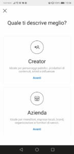 Creator o azienda?