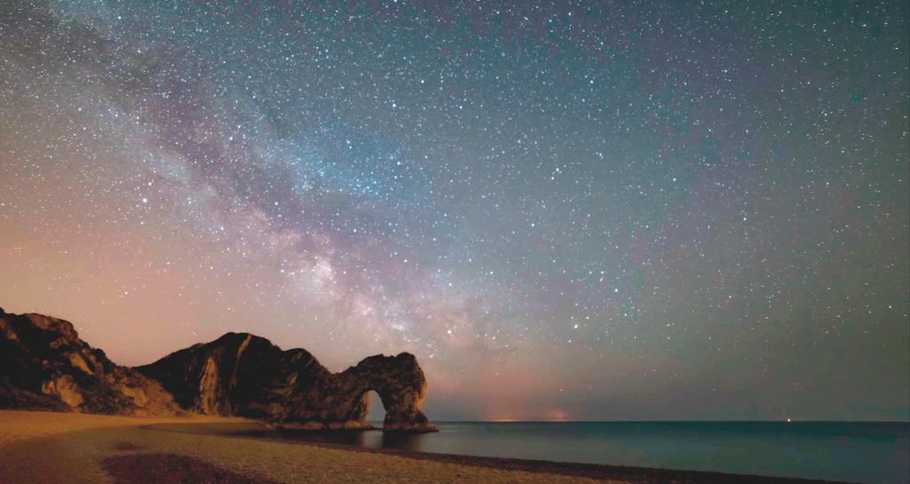 La costa - di notte
