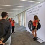 Huawei showroom Milano Porta Nuova