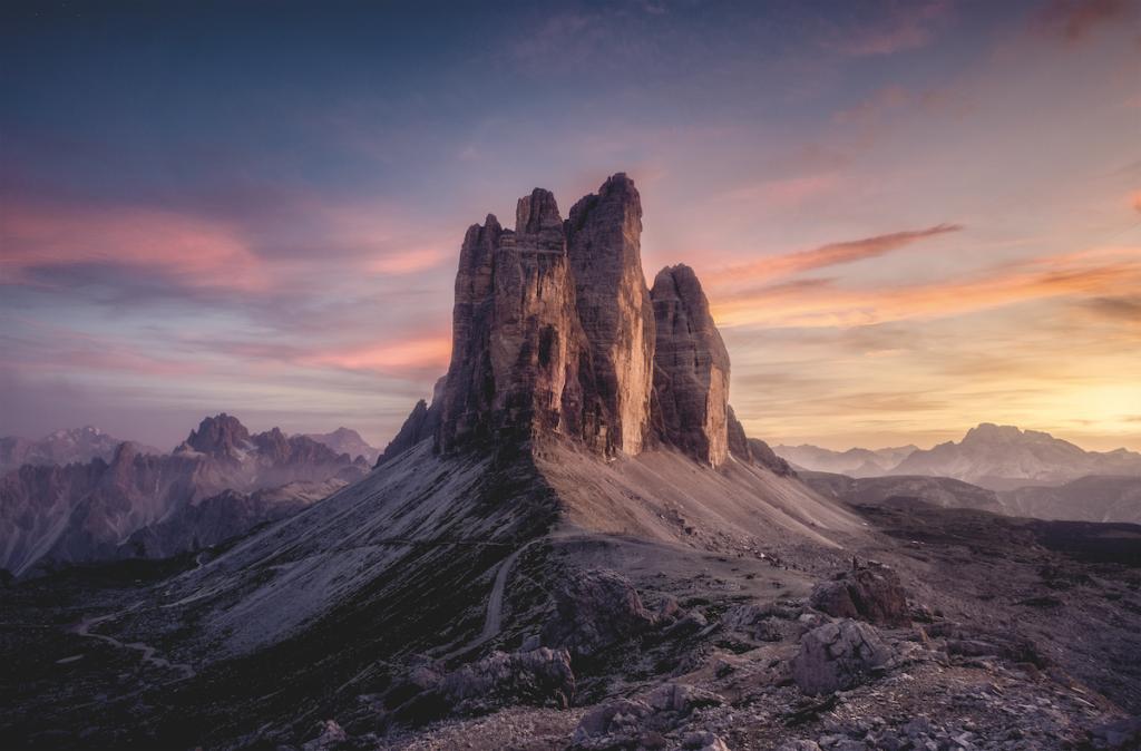 Tre cime di Lavaredo © Mattia Chersicola.