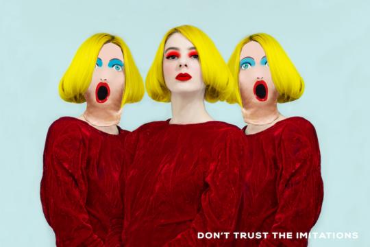 Don't trust the imitations, 2019 © Valeria Secchi