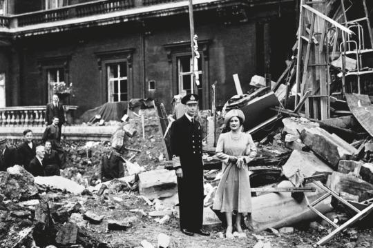 Buckingham Palace bombardata / © Pa archIve/Press assocIatIon IMages