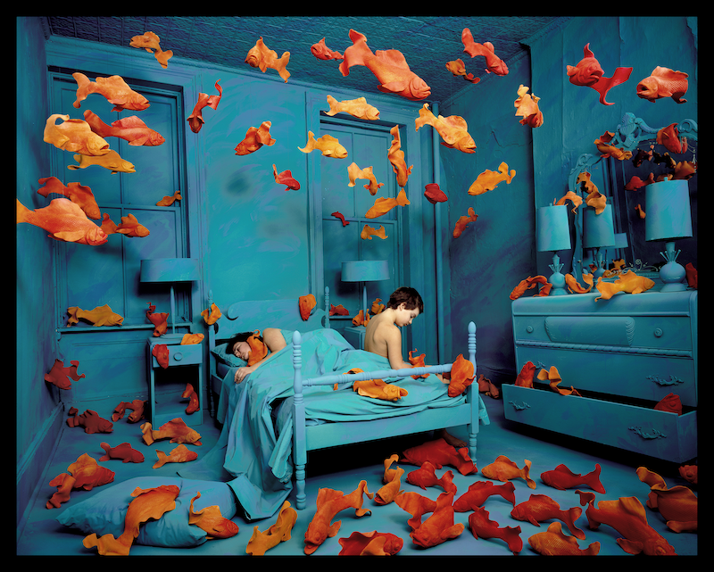 Revenge of the Goldfish © Sandy Skoglund, 1981