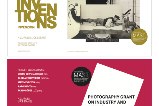 MAST Photography Grant on Industry and Work - locandina