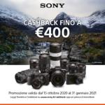 Winter Cashback Sony - locandina