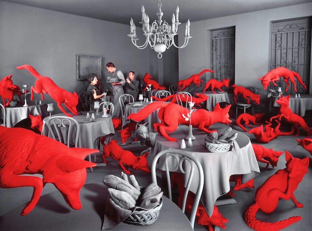 Fox Games 1989 © SANDY SKOGLUND