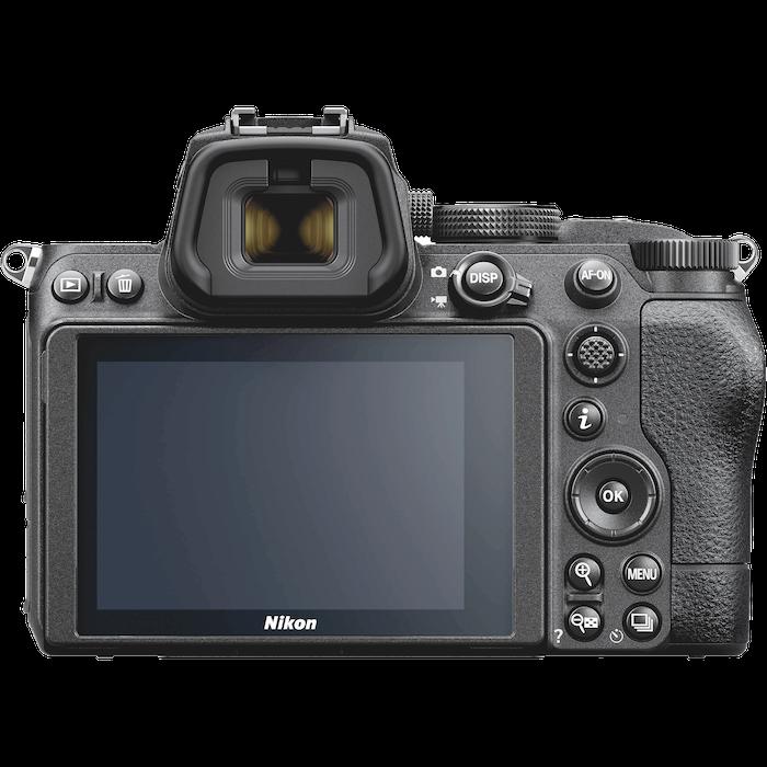 Nikon z5 back