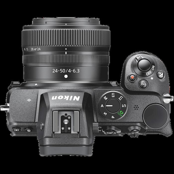 Nikon Z 5 top