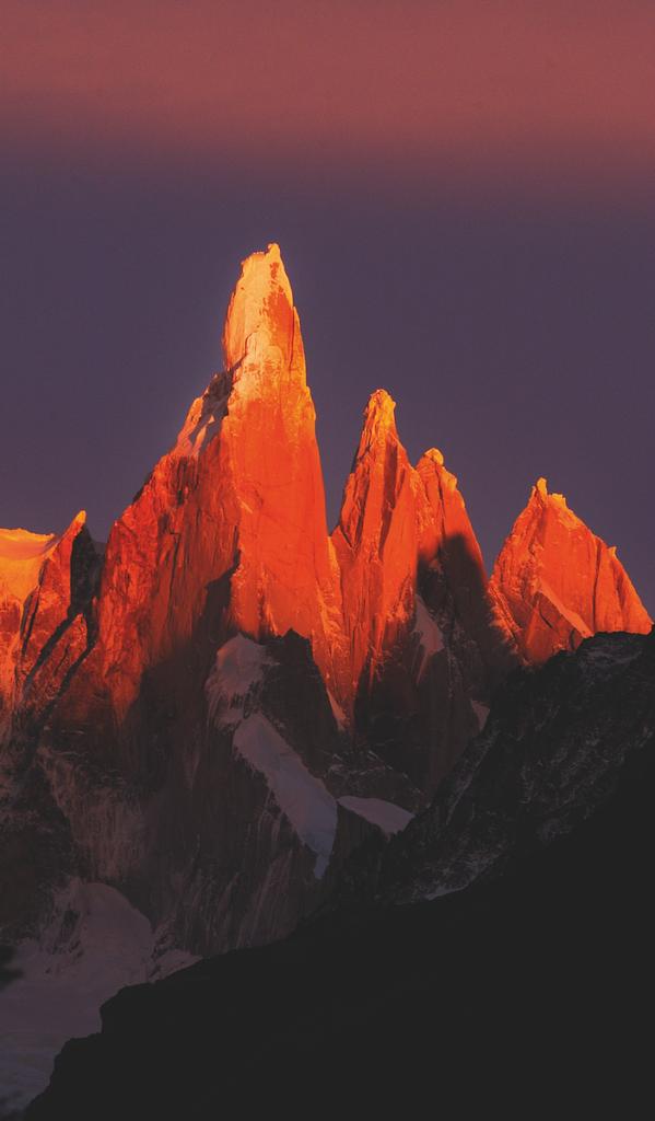 L'Urlo di Pietra, Cerro Torre, Patagonia, Argentina 2003 © Michele Dalla Palma