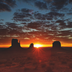 Alba sulla Monument Valley, Arizona USA 2018 © Michele Dalla Palma