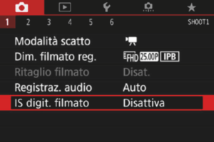 IS Digitale Filmato
