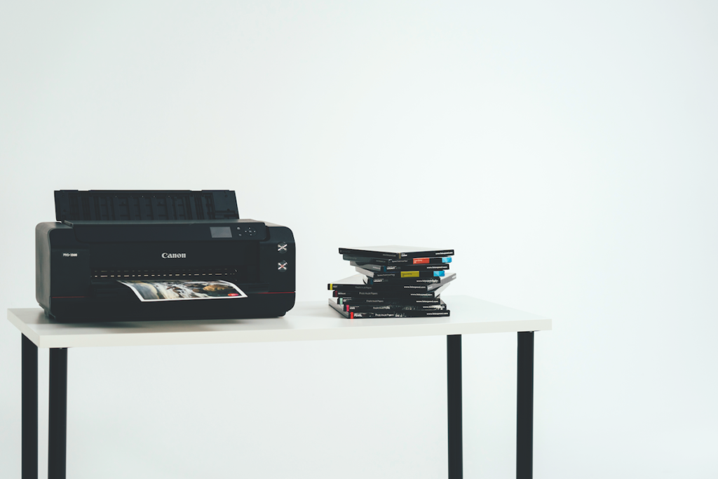 La stampante a getto d'inchiostro